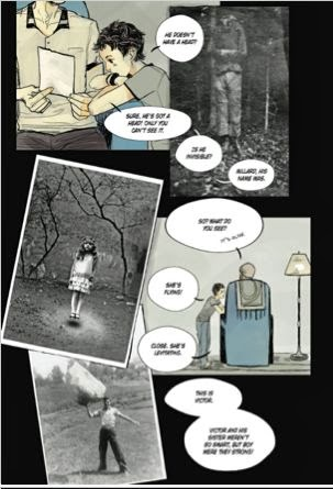 excerpt 111 MISS PEREGRINE'S HOME FOR PECULIAR CHILDREN - The Graphic Novel
